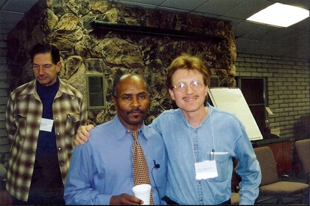 Vance with Rodney King's attorney, Milton Grimes: Milton Grimes is an instructor at Gerry Spence's Trial Lawyers College, both at Thunderhead Ranch, and also at regional seminars. Milton fought for Rodney King after the LA police beat up Rodney King, and was successful in making sure justice is done.